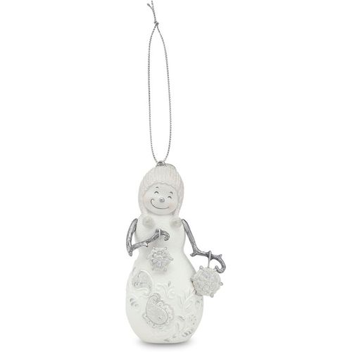 Perfectly Presented Figurines Snowflakes Christmas Snowman Hanging Ornament Ref 77016