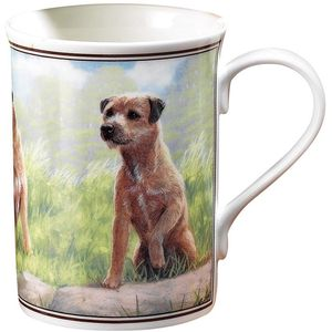 Border Terrier China Mug