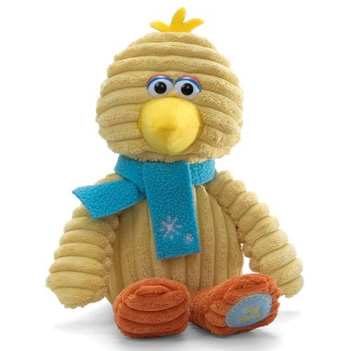 Sesame Street Plush Holiday Soft Toy Big Bird Corduroy Ref. 320327