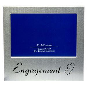 "Engagement Photo Frame 5x3.5"""