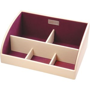 Stackers Cream & Purple Storage Caddy