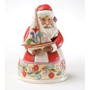 Christmas Spirit Fills My Sails (Santa with Sailboat)