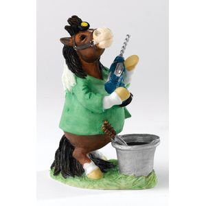 Border Fine Arts Studio Collection Figurine - Pony Pals Open Wide