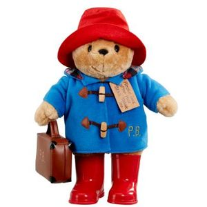 Large Paddington Bear With Boots & Suitcase