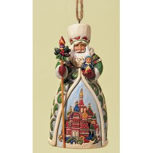 Heartwood Creek Hanging Ornament Russian Santa