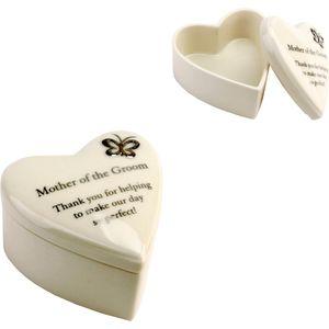 Amore Wedding Party Trinket Box - Mother of the Groom Keepsake Gift
