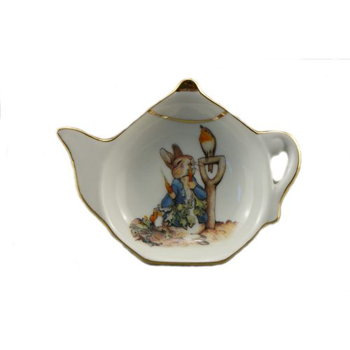 Reutter Porcelain Beatrix Potter Kitchen tea bag tidy
