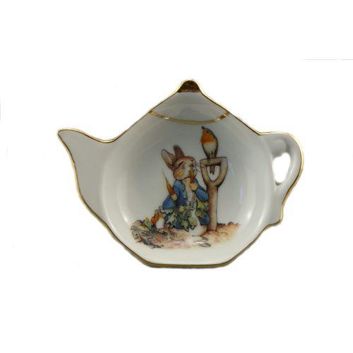 Reutter Porcelain Beatrix Potter Kitchen tea bag tidy