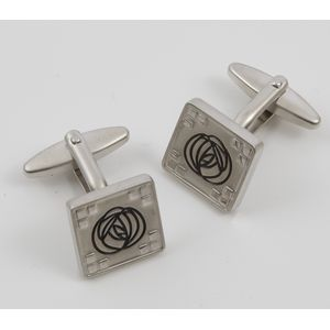 Rennie Mackintosh Design Cufflinks