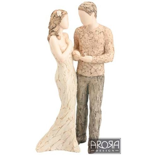 More than Words With this ring Figurine