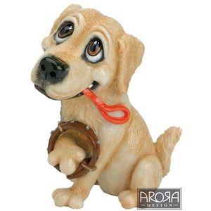 Little Paws Barney the Golden Retriever Figurine