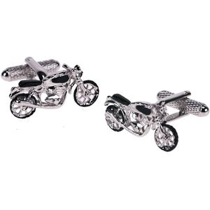 Motorbike Cufflinks - Shiny Finish