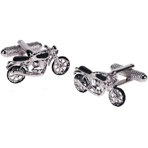Classic Motor Bike Novelty Cufflinks