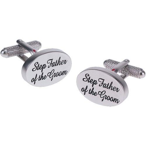 Step Father of the Groom Wedding Novelty  Cufflinks