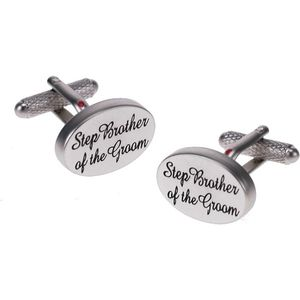 Step Brother of the Groom Wedding Cufflinks