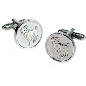 Aries Sign of the Zodiac Cufflinks