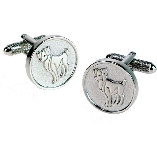 Aries Sign of the Zodiac Novelty Cufflinks Ref CK718