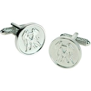 Gemini Sign of the Zodiac Cufflinks
