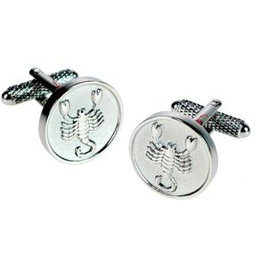 Scorpio Sign of the Zodiac Cufflinks