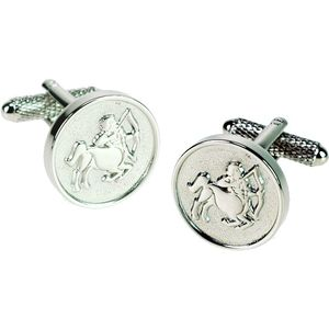 Sagittarius Sign of the Zodiac Cufflinks