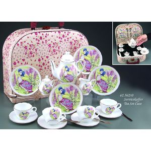 Beatrix Potter Jemima Miniature Tea Set In Case