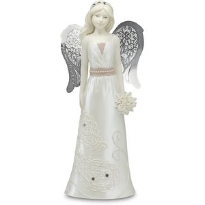 Little Things Mean A Lot Angel Figurine - Junior Bridesmaid