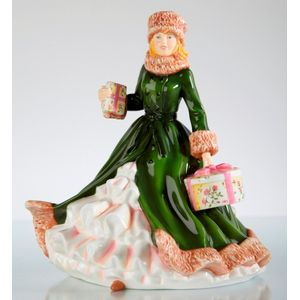 English Ladies All Wrapped Up Figurine