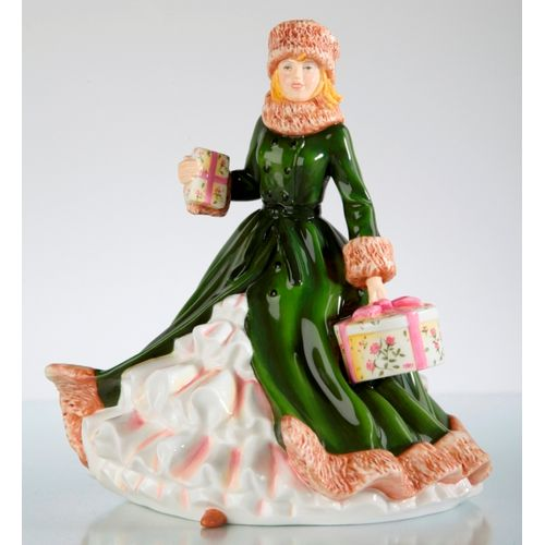 English Ladies All Wrapped Up Figurine Ref ELGELS00402