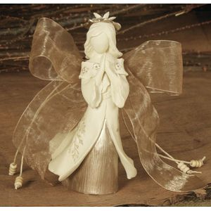 Natures Poetry Figurine - Bereavement Angel