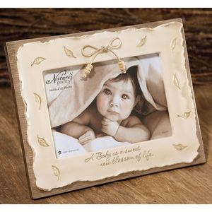 Natures Poetry Baby Photo Frame 4x6""