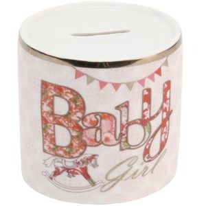 Laura Darrington Money Bank - Baby Girl