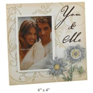 You & Me Stone Effect Etchings Photo Frame 6x4""