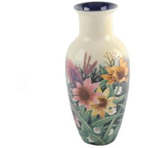 Old Tupton Ware Summer Bouquet Vase 8""