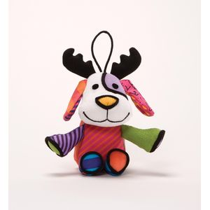 Romero Britto Reindog Hanging Ornament
