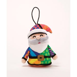 Romero Britto Santa Hanging Ornament