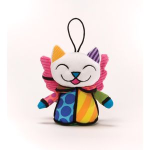 Romero Britto Angel Cat Hanging Ornament