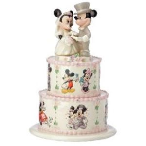 Disney Lenox Minnie & Mickey Wedding Day Wishes