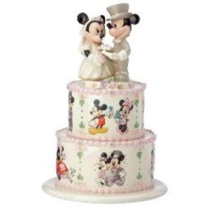 Disney Lenox Minnie & Mickey Wedding Day Wishes