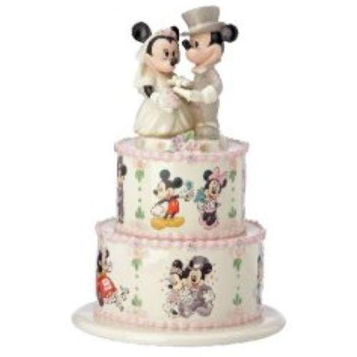Disney Lenox Minnie & Mickey Wedding Day Wishes Figurine Ref 818507