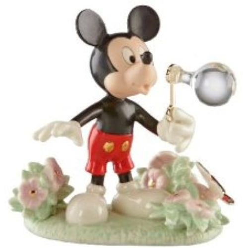 Lenox Disney Mickey`s Backyard Bubbles Figurine Ref 819200