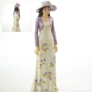 English Ladies With Pride - Mother Of The Bride Figurine