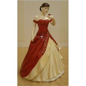 English Ladies Lady Cheltenham Figurine