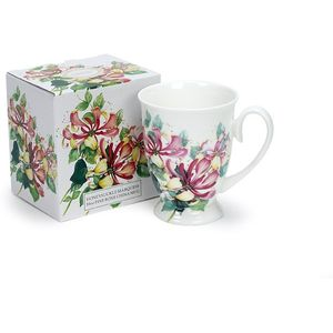 Heath McCabe Gift Boxed Marquess Fine Bone China Mug - Honeysuckle