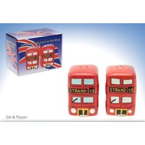 London Bus Salt & Pepper Pots