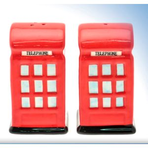 Telephone Box Salt & Peppers Pots