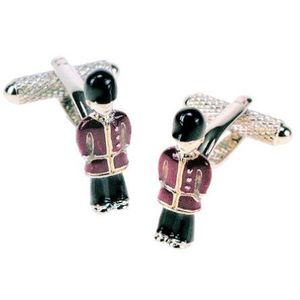 London British Royal Guardsman Novelty Cufflinks