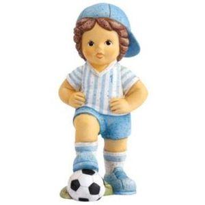 "Nina & Marco, Footballer Marco ""I Won"" Figurine"