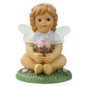 Goebel Nina & Marco Fairy Figurine - Lovely Flower
