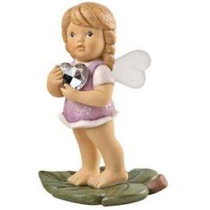 Nina & Marco, Fairy with Heart Figurine