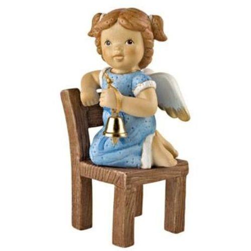 Goebel Nina & Marco Angel Figurine - One More Bell